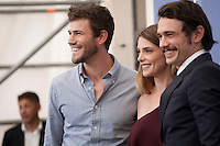 Austin Stowell, Ashley Greene, James Franco at the In Dubious Battle film photocall at the 73rd Venice Film Festival, Sala Grande on Saturday September 3rd 2016, Venice Lido, Italy.