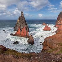 North coast of Ponta de São Lourenço.