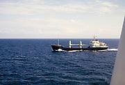 """Leningradskiy Partizan"" general cargo vessel ship,  built 1970 photograph 1970"