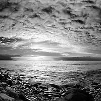 Stormy Sunset at Rossbeigh Beach, Glenbeigh Co. Kerry, Ireland / kr049