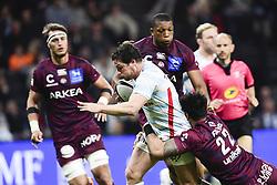 March 24, 2019 - Nanterre, France, FRANCE - Henry Chavancy (RM92) vs Ulupano Seuteni  (Credit Image: © Panoramic via ZUMA Press)