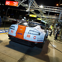 #95 Aston Martin Vantage V8, Aston Martin Racing (drivers: Simonsen/Nygaard/Poulsen) at Le Mans 24H 2013 - This sadly was Simonson's last race as he had an accident in lap 4 and was killed.