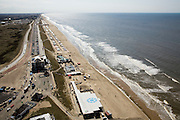 Nederland, Noord-Holland, Bloemendaal aan Zee, 16-04-2008; boulevard langs het strand (richting Zandvoort), met de bekende club Bloomingdale;.zee, strand, duin, duinen, strandpaviljoen, strandtent ..luchtfoto (toeslag); aerial photo (additional fee required); .foto Siebe Swart / photo Siebe Swart