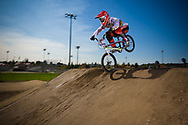 Current Supercross World Champion #1 (WILLOUGHBY Sam) AUS at the 2012 UCI BMX Supercross World Cup in Abbotsford, Canada