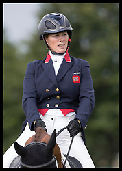 August 5, 2017 - United Kingdom - Image licensed to i-Images Picture Agency. 05/08/2017. Gatcombe Park, United Kingdom. Zara Tindall competing in the dressage event on her horse Class Affair on the second day of the Festival of British Eventing at Gatcombe Park, United Kingdom.  Picture by Stephen Lock / i-Images (Credit Image: © Stephen Lock/i-Images via ZUMA Press)