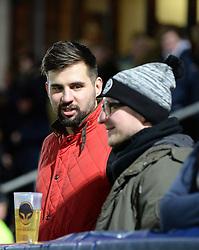 Worcester Warriors fans - Mandatory by-line: Dougie Allward/JMP - 04/11/2016 - RUGBY - Sixways Stadium - Worcester, England - Worcester Warriors v Bristol Rugby - Anglo Welsh Cup