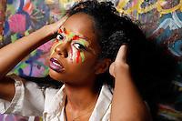 Kyler Manjone photographed by Thomas Concordia at Conartist Studios, Styling by Alisha Trimble, Make up by Wenya Chang, Hair by Denise Mojica