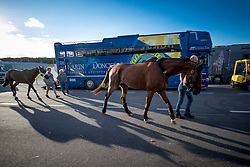 Belgian Team<br /> Departure of the horses to the Rio Olympics from Liege Airport - Liege 2016<br /> © Hippo Foto - Dirk Caremans<br /> 30/07/16