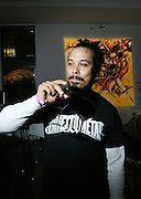 Bazaar Royale at the Common Celebration Capsule Line Launch with Softwear by Microsoft at Skylight Studios on December 3, 2008 in New York City..Microsoft celebrates the launch of a limited-edition capsule collection of SOFTWEAR by Microsoft graphic tees designed by Common. The t-shirt  designs. inspired by the 1980's when both Microsoft and and Hip Hop really came of age, include iconography that depicts shared principles of the technology company and the Hip Hop Star.