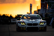 March 20, 2021. IMSA Weathertech Mobil 1 12 hours of Sebring:   #96 Turner Motorsport BMW M6 GT3, GTD: Robby Foley, Aidan Read, Bill Auberlen
