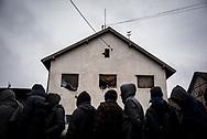 Food distribution for migrants. Belgrade, Serbia. January 14th 2016 Federico Scoppa