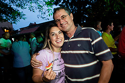 Tanja Seles at Reception of Slovenian rider Luka Mezgec after  he finished his first Tour de France 2020 and placed second at 2 stages, on September 21, 2020 in Joze Plecnik garden, Ljubljana, Slovenia. Photo by Vid Ponikvar / Sportida
