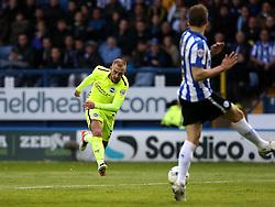 Jiri Skalak of Brighton & Hove Albion shoots at goal - Mandatory by-line: Robbie Stephenson/JMP - 13/05/2016 - FOOTBALL - Hillsborough - Sheffield, England - Sheffield Wednesday v Brighton and Hove Albion - Sky Bet Championship Play-off Semi Final first leg