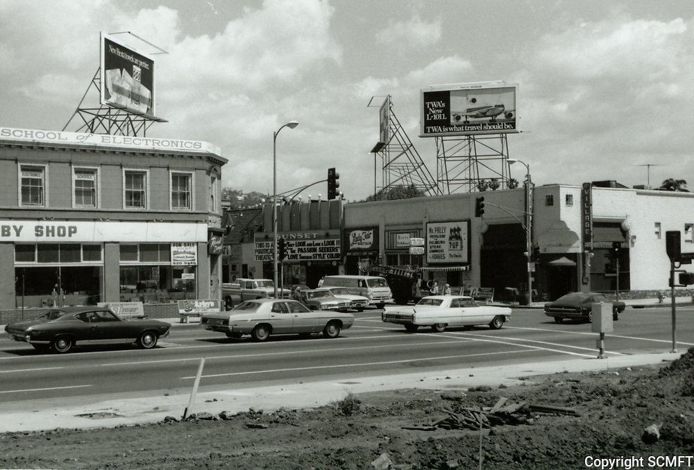 1973 Sunset Blvd. & Western Ave.