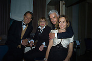 RICHARD E.GRANT; JOAN WASHINGTON; NICKY HASLAM, JEANNE MARINE, Nicky Haslam hosts dinner at  Gigi's for Leslie Caron. 22 Woodstock St. London. W1C 2AR. 25 March 2015