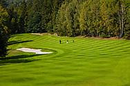 21-09-2015: Golf Resort Karlovy Vary in Karlovy Vary (Karlsbad), Tsjechië.<br /> Foto: Mooie glooiingen