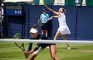 Elena Vesnina and Veronika Kudermetova of Russia playing doubles at the 2021 Viking International WTA 500 tennis tournament on June 23, 2021 at Devonshire Park Tennis in Eastbourne, England - Photo Rob Prange / Spain ProSportsImages / DPPI / ProSportsImages / DPPI