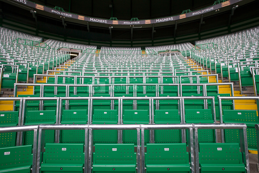 File photo dated 16-07-2016 of Celtic's new safe standing area