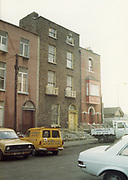 Old Dublin Amature Photos May 1983 WITH, Kavanagh's Pub, Dorset St, Shop Front, Aston Quay, Halfpenny Bridge, Merchants Arch, MK2 Ford Escort Van, Vauxhall Viva, car, Old amateur photos of Dublin streets churches, cars, lanes, roads, shops schools, hospitals
