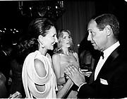 Jacqueline de Ribes and Count Giovanni Volpi de Misurata. Save Venice Ball. Venice. 1991. © Copyright Photograph by Dafydd Jones 66 Stockwell Park Rd. London SW9 0DA Tel 020 7733 0108 www.dafjones.com