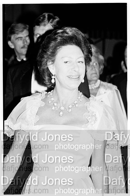 Princess Margaret. Leukemia Ball, Hurlingham 15.7.85© Copyright Photograph by Dafydd Jones 66 Stockwell Park Rd. London SW9 0DA Tel 020 7733 0108 www.dafjones.com