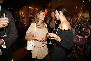 Francesca Versace and Lara Bohinc, Alex Shulman of Vogue and Mulberry host a party for Giles Deacon. ( Mulberry for Giles) Mulberry. New Bond St. 20 September 2006. ONE TIME USE ONLY - DO NOT ARCHIVE  © Copyright Photograph by Dafydd Jones 66 Stockwell Park Rd. London SW9 0DA Tel 020 7733 0108 www.dafjones.com