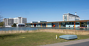 EINDHOVEN, 26-04-2021, High Tech Campus<br /> <br /> Alles klaar voor Koningsdag 2021 in Eindhoven op de High Tech Campus in Eindhoven Foto: Brunopress/Patrick van Emst<br /> <br /> Op de foto: High Tech Campus