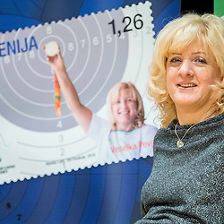 20161207: SLO, Events - Presentation of new stamp Veselka Pevec by Posta Slovenije