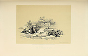 Fountain of Cana from The Holy Land : Syria, Idumea, Arabia, Egypt & Nubia by Roberts, David, (1796-1864) Engraved by Louis Haghe. Volume 1. Book Published in 1855 by D. Appleton & Co., 346 & 348 Broadway in New York.