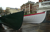 200402  Boat Race 150th year Replica Boats, Richmond. GREAT BRITAIN