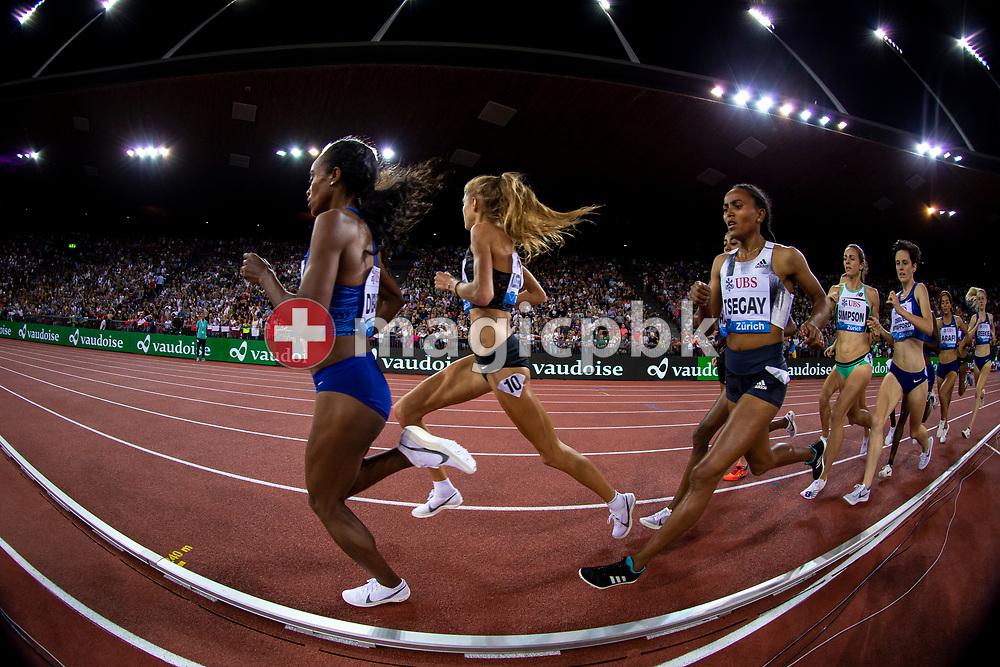Women's 1500m during the Iaaf Diamond League meeting (Weltklasse Zuerich) at the Letzigrund Stadium in Zurich, Switzerland, Thursday, Aug. 29, 2019. (Photo by Patrick B. Kraemer / MAGICPBK)