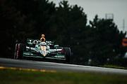 August 2011. Tony Kanaan, Indycar Honda Grand Prix of Ohio at Mid Ohio Sportscar Course in Lexington, OH.