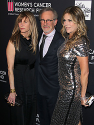 The Women's Cancer Research Fund hosts an Unforgettable Evening. 27 Feb 2018 Pictured: Steven Spielberg, Rita Wilson, Kate Capshaw. Photo credit: Jaxon / MEGA TheMegaAgency.com +1 888 505 6342
