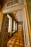 Interior views, Schloss Rheinsberg (castle), Rheinsberg, Germany