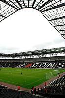 Photo: Richard Lane/Sportsbeat Images.<br /> Milton Keynes Dons v West Ham United. Pre Season Friendly. 25/07/2007. <br /> MK Dons new home ground, Stadium MK.
