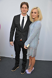 FEARNE COTTON and JESSE WOOD at the Glamour Women of the Year Awards 2012 in association with Pandora held in Berkeley Square Gardens, London W1 on 29th May 2012.