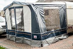 Small Dorma Caravan Awning<br /> <br /> Large Metal Collapsable Dog Cage<br /> <br />  12 March 2017 <br />   Copyright Paul David Drabble<br />   www.pauldaviddrabble.co.uk