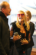 Anastacia - pokes her tongue out in Cologne<br /> <br /> The singer arrives in Cologne to take part in some TV interviews and other promotional events. She happily takes some time for her fans. Anastacia poses with them for photos and signs autographs. Cologne, Germany. 17.11.2015.<br /> ©Exclusivepix Media