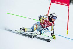 Ragnhild Mowinckel (NOR) during the Ladies' Giant Slalom at 57th Golden Fox event at Audi FIS Ski World Cup 2020/21, on January 16, 2021 in Podkoren, Kranjska Gora, Slovenia. Photo by Vid Ponikvar