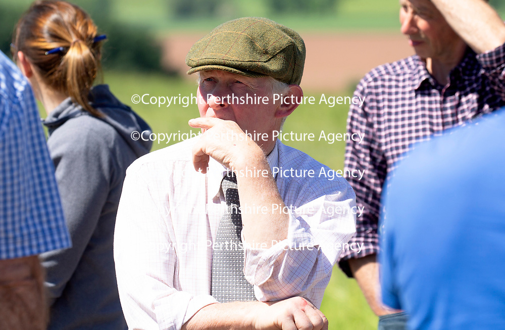 Quality Meat Scotland (QMS) Better Grazing meeting at Newmiln Farm, Tibbermore, Perth<br />Picture by Graeme Hart.<br />Copyright Perthshire Picture Agency<br />Tel: 01738 623350  Mobile: 07990 594431