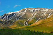 Mountains  along the Dempster Highway<br /> Dempster Highway<br /> Yukon<br /> Canada