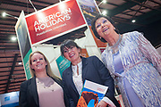 NO FEE PICTURES<br /> 25/1/19 American Holidays pictured at the Holiday World Show 2019 at the RDS Simmonscourt in Dublin. Picture; Arthur Carron