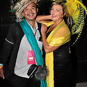 See the hat man from 'Picture Capital' and Hats Designer Carollee Emery of Brazen Canary photoshoot at Fashion Scout - SS19 - London Fashion Week - Day 2, London, UK. 15 September 2018.