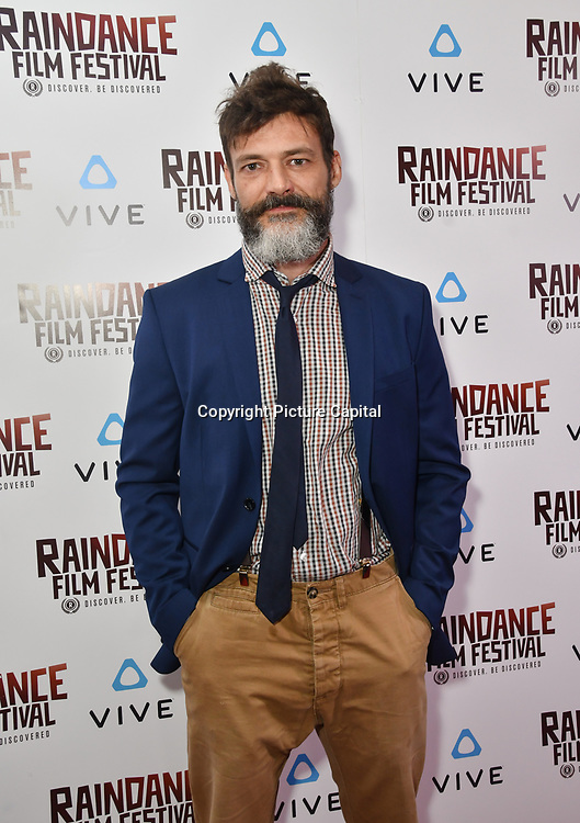 Niccolo Cancellieri is a actor attends the Raindance Film Festival - VR Awards, London, UK. 6 October 2018.