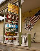 Americana, NE Pennsylvania, Wanamaker Country store, US flag