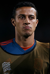 September 11, 2018 - Elche, Alicante, Spain - Thiago Alcantara do Nascimento of Spain looks on prior to the UEFA Nations League A group four match between Spain and Croatia at Manuel Martinez Valero on September 11, 2018 in Elche, Spain  (Credit Image: © David Aliaga/NurPhoto/ZUMA Press)
