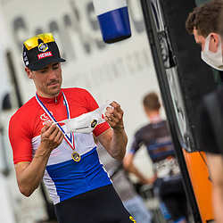 WIJSTER (NED) June 20: <br /> CYCLING <br /> Dutch Nationals Road Men up and around the Col du VAM<br /> Timo Roosen (Netherlands / Team Jumbo - Visma)