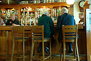 UK, Northern Ireland, County Antrim, Portrush Interior of a pub