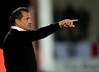 Football -League 2 - Burton Albion  vs. Aldershot Town- Aldershot manager Dean Holdsworth  at The Pirelli Stadium.
