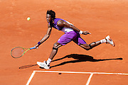 Roland Garros 2011. Paris, France. May 23rd 2011..French player Gael MONFILS against Bjorn PHAU